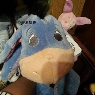 香港迪士尼 小熊維尼旁邊的驢子 依兒 小豬