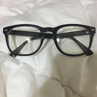 全新黑框眼鏡