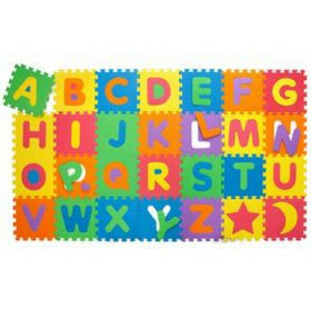 86 piece Alphabet Play Mat