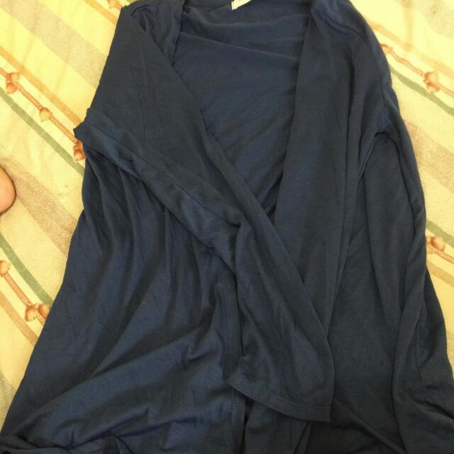(二手)(東京著衣)薄外套(深藍)