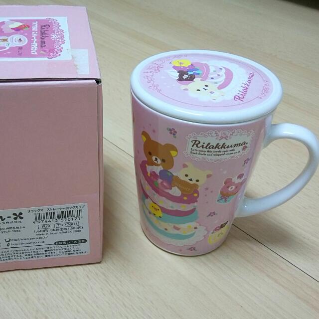 日本帶回三麗鷗附蓋茶杯