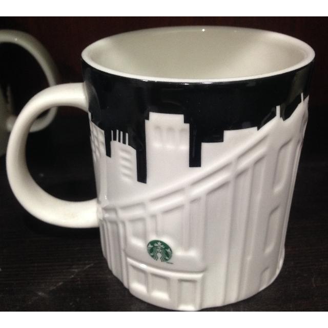 [全新]星巴克浮雕杯 美國舊金山 限量