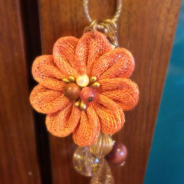 全新 花朵吊飾 日本購回