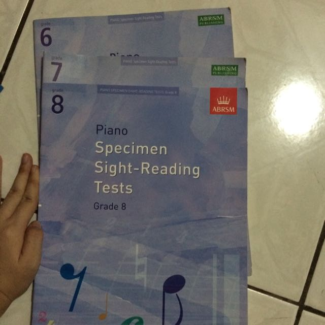 ABRSM SPECIMEN SIGHT-READING TESTS