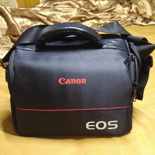 Canon 原廠相機包 可裝一機兩鏡 單眼相機包
