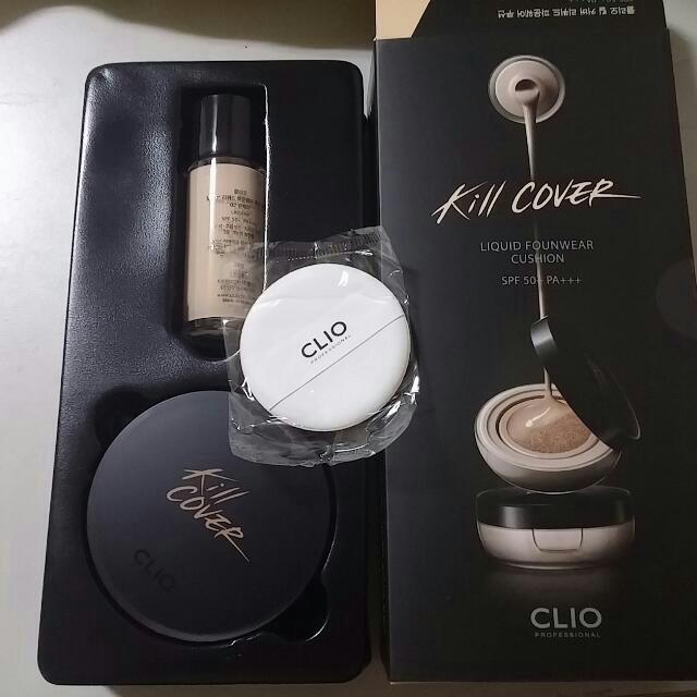 韓國直送!全新Clio kill over 氣墊粉餅