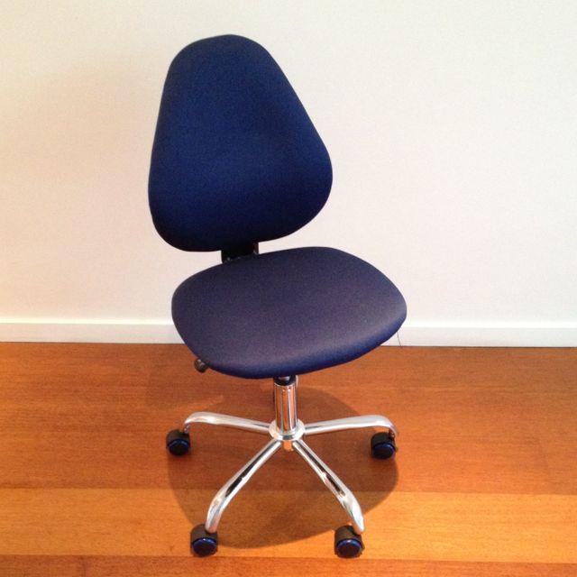 Cobalt Blue Office Chair