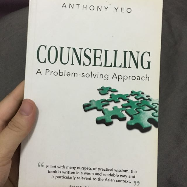 Counselling - A Problem Solving Approach - Anthony Yeo