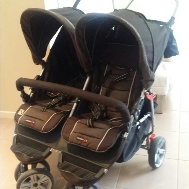 Double Stroller Pram Valco Navigator