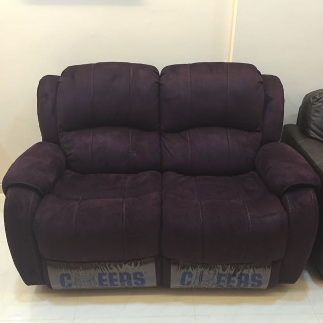 Fabric Recliner Sofa From Cheers