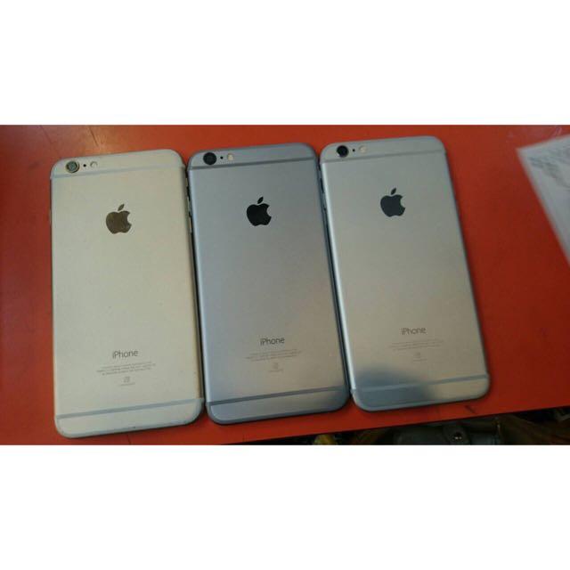 iphone6 plus(5.5)黑金銀