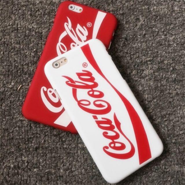全新現貨🌹可口可樂簡約iphone 手機殼