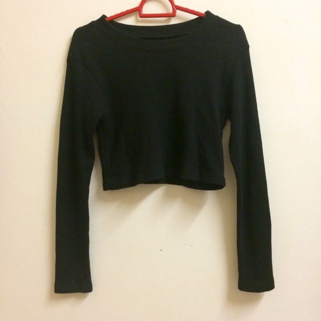 [REDUCED!] Knit Crop Top