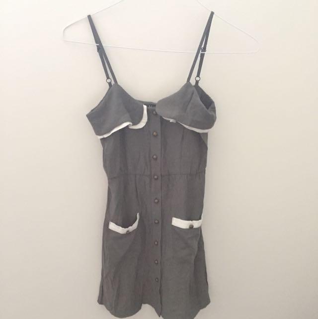 Maxim Khaki Dress Size S SH