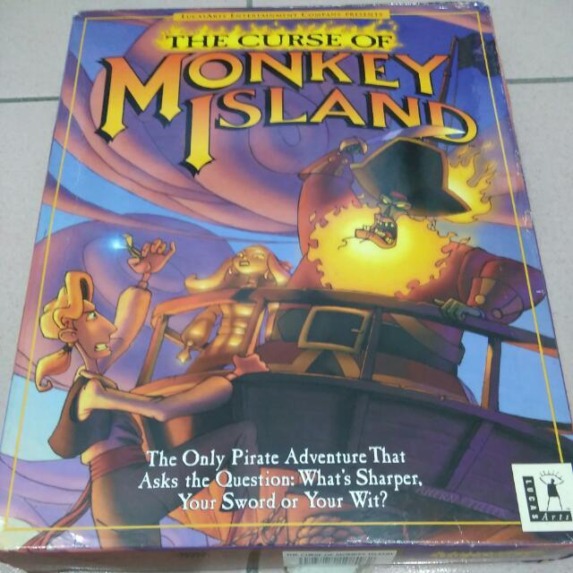 MONKEY ISLAND 3 猴島小英雄3代 中文版