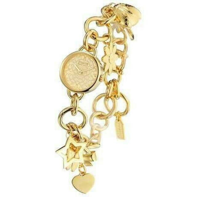 Original Coach Zoe Charm Bracelet Ladies Watch Women S Fashion On
