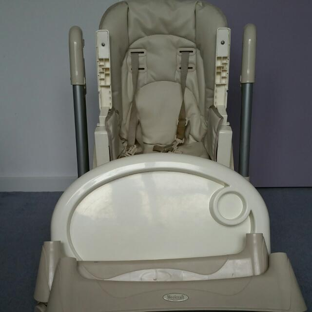 Steelcraft Messina DLX Hi-Lo Highchair
