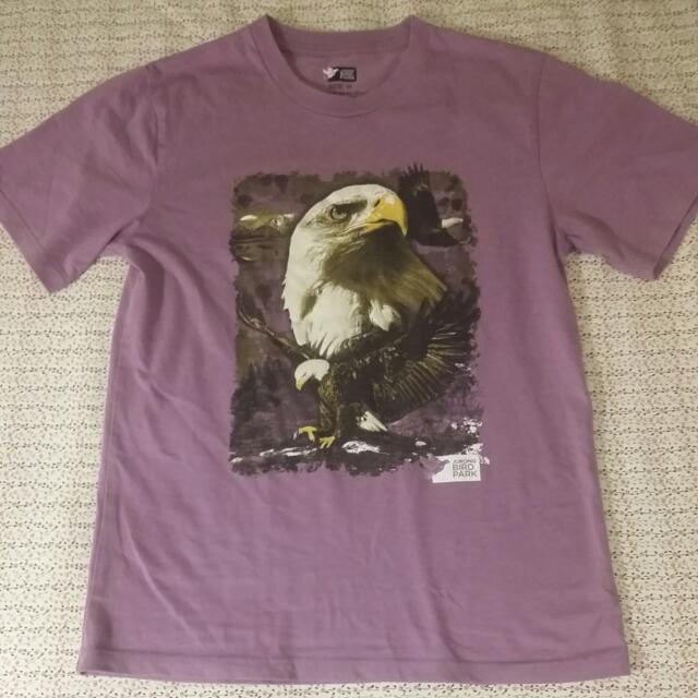 💖全新💖男生侏羅紀公園老鷹T恤