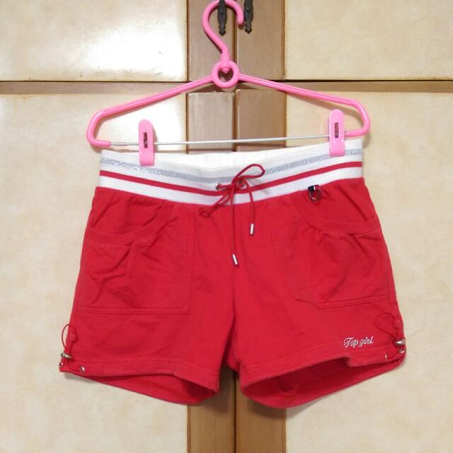 二手topgirl運動短褲