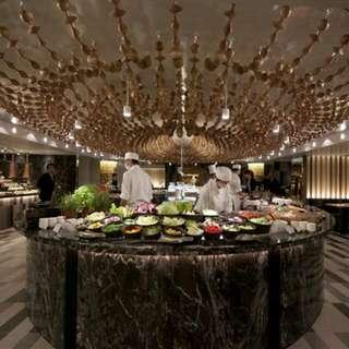 飯店自助餐卷(4人同行1人免費)西華飯店