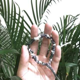 公平貿易-婦女手捻線-許願繩