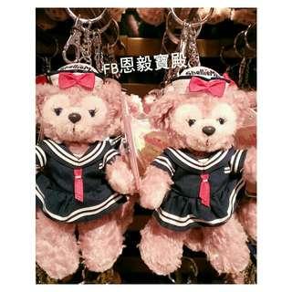 現貨在台♡香港迪士尼 Shelliemay雪麗梅海軍裝娃娃吊飾 鑰匙圈