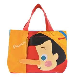 日本迪士尼 全新正版 小木偶皮諾丘帆布包