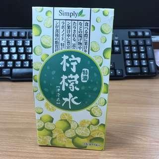 Simply特濃檸檬水 15包/盒