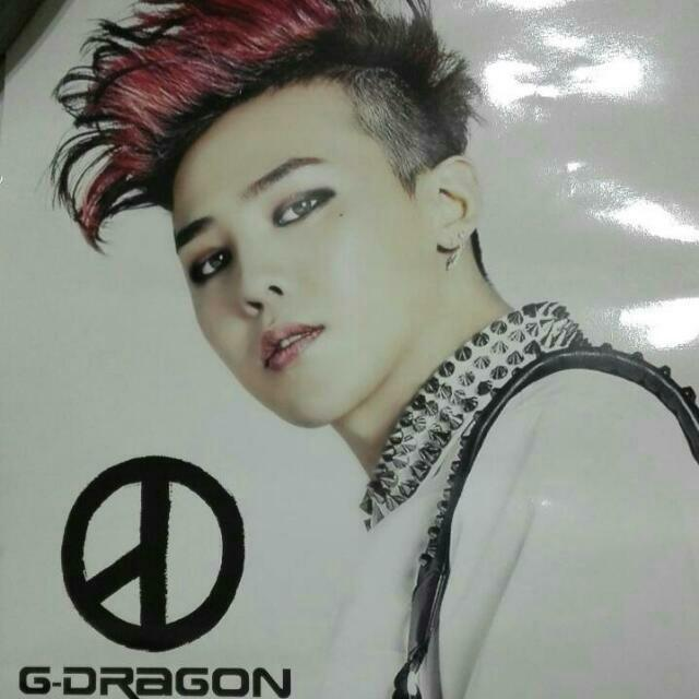 G-dragon海報 GD