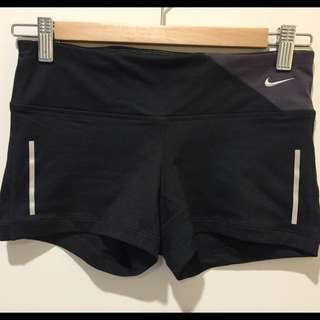 Nike Dri-Fit Active Shorts in Black XS