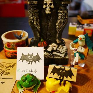 ◆萬聖節加購小印章 (b) 利牙蝙蝠