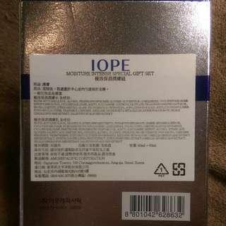 保留中,IOPE極效保濕潤膚組,全新未使用