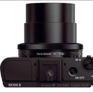 Sony RX100 II (used once)