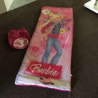 Pink Barbie Sleeping Bag
