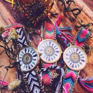 Braided Handmade Watches