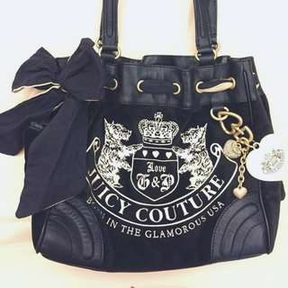 JuicyCouture DAYDREAMER 絨布面肩背提包
