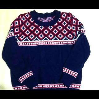 (!降!)圖騰復古毛衣