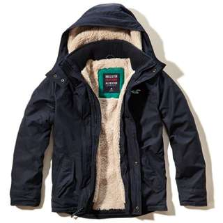 wts: Brand New Size S Hollister All Weather Jacket