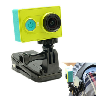 Accessories 360 Rotary Backpack Hat Clip Clamp for XiaoYi/GoPro Hero4/3+/3 Camera