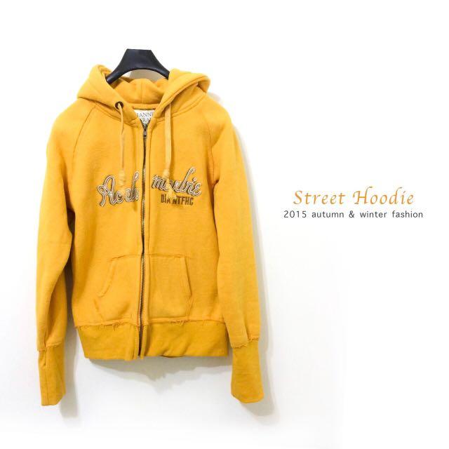 土耳其黃刷毛加厚外套