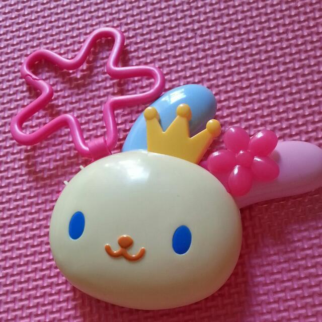 麥當勞玩具花小兔髮梳組