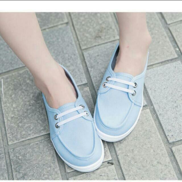 日系懶人鞋/帆布鞋💖