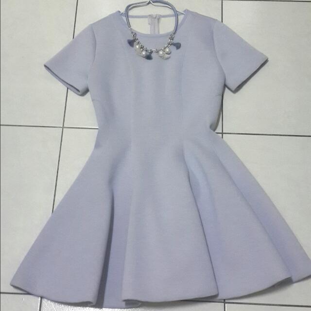 韓製太空材質洋裝 降價喲