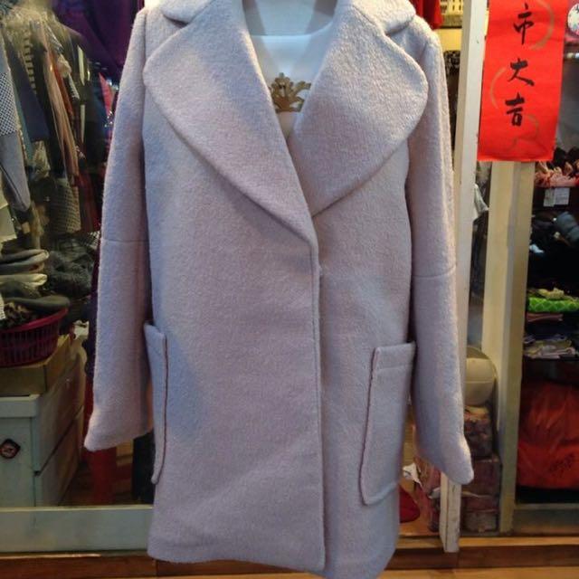 日本毛尼外套