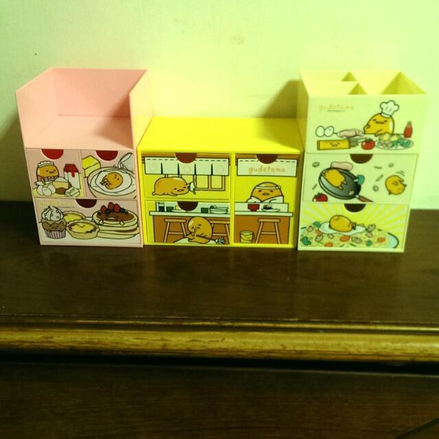 蛋黃哥收納盒ㄧ套 500含運