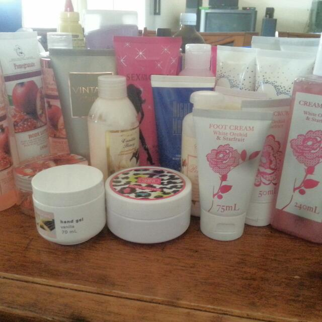 Assorted Lotions, Soaps, Shampoos & Sprays
