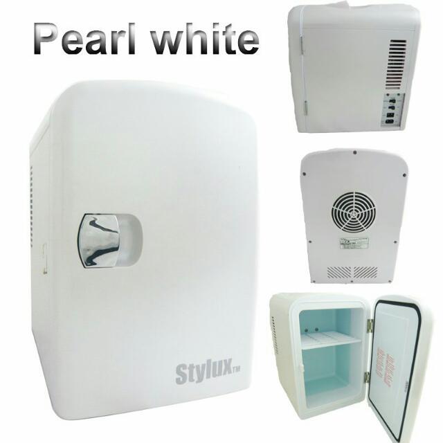 Brand New Stylux LH-JY4AD Mini Fridge (White), Home Appliances on Carousell