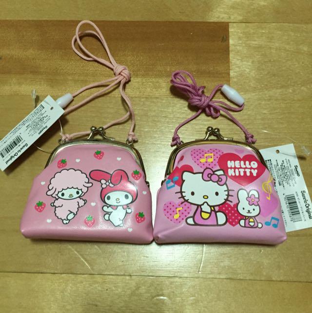 Hello Kitty 美樂蒂 零錢包(日本)