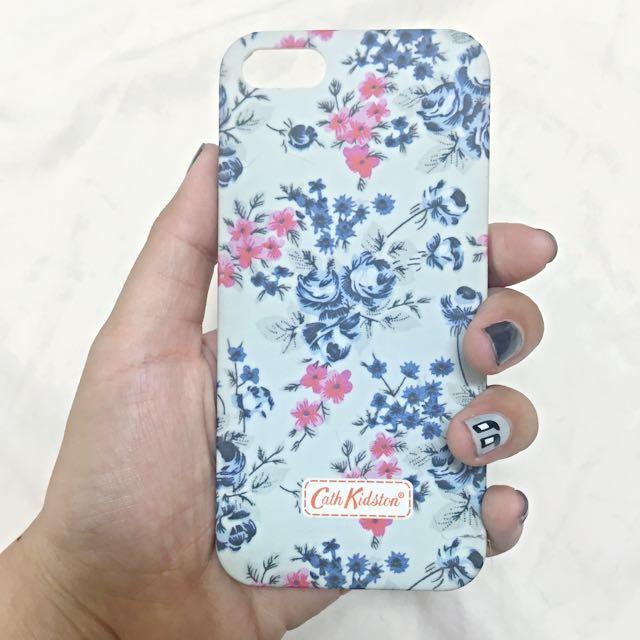 I5手機殼 藍色花花  還有立體感 用起來超美💗💗