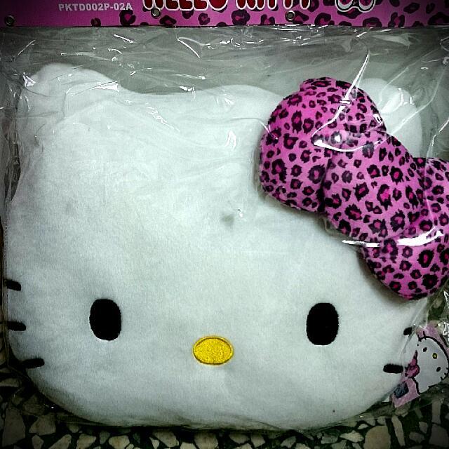 Kitty豹紋抱枕